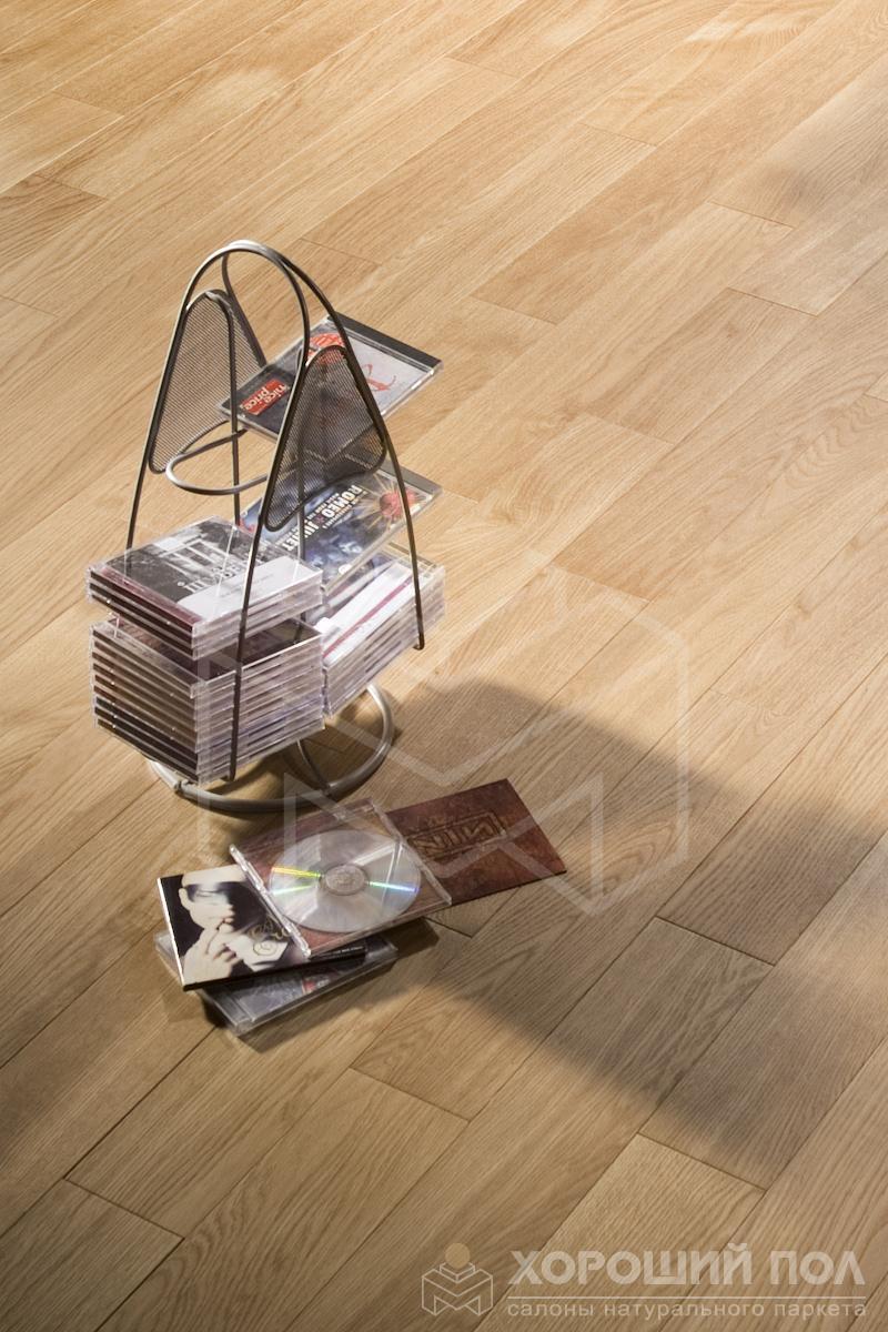 Инженерная доска COSWICK Дуб Корица Бражированная Масло шелковое ультраматовое 3-х слойный T&G (шип-паз) Селект энд Бэттер 1167-1565