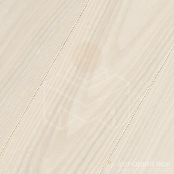 Инженерная доска COSWICK Ясень Лунный Свет Классическая Масло шелковое 3-х слойный T&G (шип-паз) Селект энд Бэттер 1267-1236