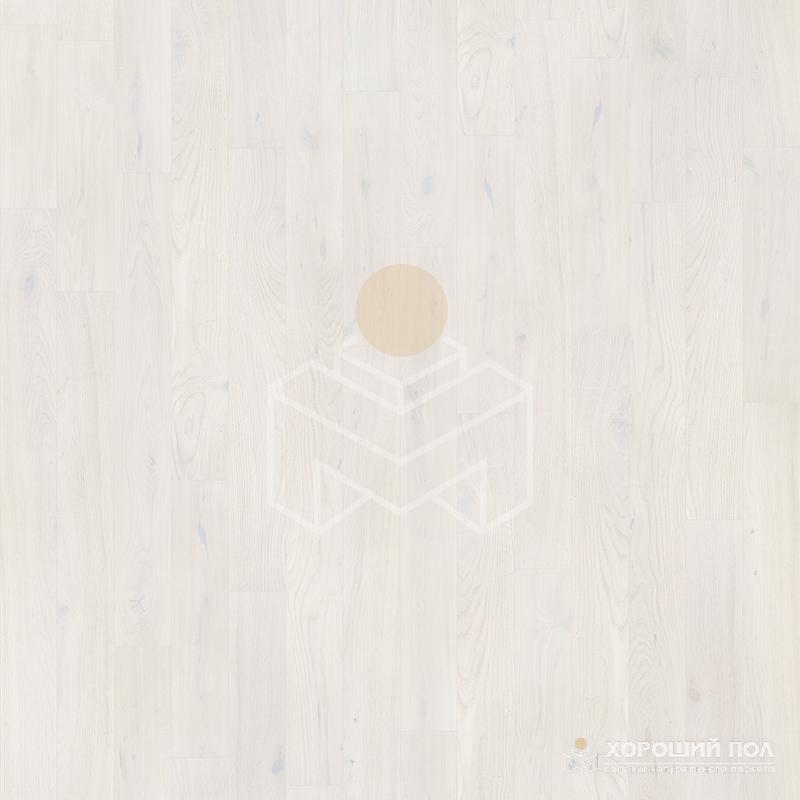 Инженерная доска COSWICK Дуб Кристально белый Вековые традиции Масло шелковое ультраматовое 3-х слойный T&G (шип-паз) Таверн 1167-4588
