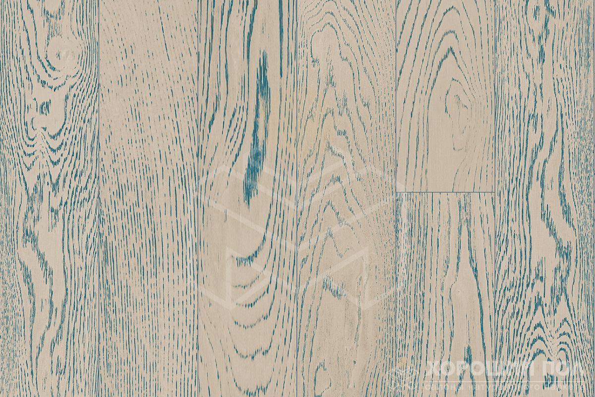 Инженерная доска COSWICK Дуб Индиго Вековые традиции Масло шелковое ультраматовое 3-х слойный T&G (шип-паз) Таверн 1167-4556