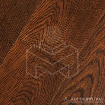 Инженерная доска COSWICK Дуб Бразильский орех Классическая Лак 3-х слойный T&G (шип-паз) Селект энд Бэттер 1167-1106