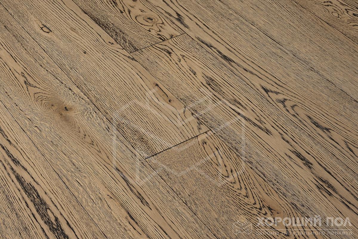 Инженерная доска COSWICK Дуб Французский гобелен Вековые традиции Масло шелковое 3-х слойный T&G (шип-паз) Таверн 1167-4249