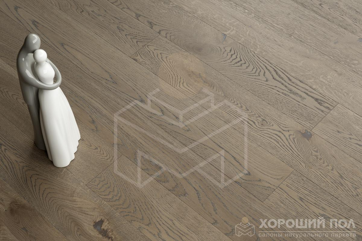 Инженерная доска COSWICK Дуб Скалистый Риф Кантри Масло шелковое 3-х слойный T&G (шип-паз) Таверн 1167-4230