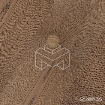 Инженерная доска COSWICK Дуб Тростниковый Кантри Масло шелковое ультраматовое 3-х слойный T&G (шип-паз) 1 Коммон 1167-3529
