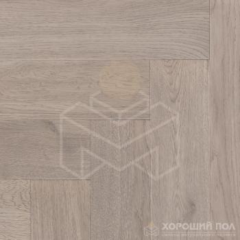 Паркет елка COSWICK Английская елка Дуб Шамбор Ренессанс Масло шелковое 3-х слойный T&G (шип-паз) 1 Коммон 1168-3215